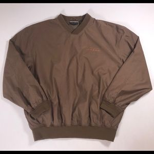 Five Star mens soft felt Windbreaker jacket Large